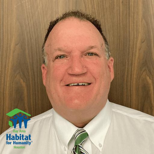 A headshot of Philip Golden with the Bay Area Habitat logo in the bottom left corner.