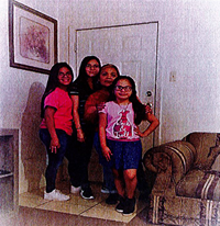 A photo of the Garza Family.